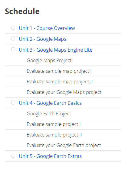 schedule-mapping-with google