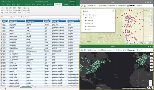 arcgis maps for office